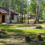 Domki wypoczynkowe w Parku Kultury w Powsinie