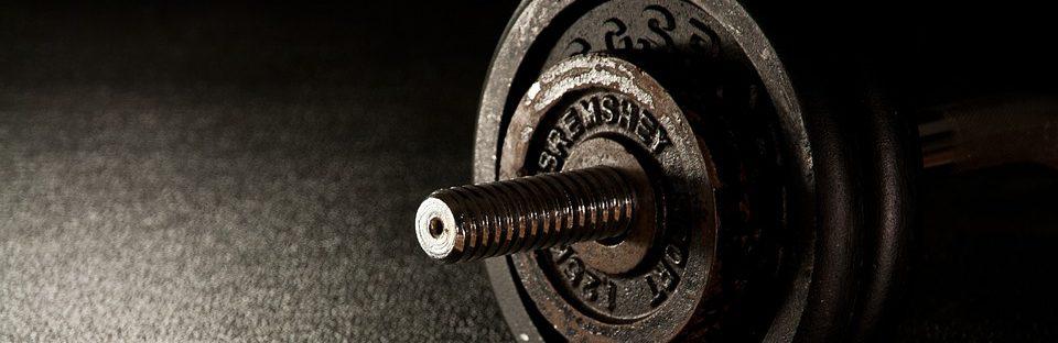 zdjęcie sztangi na siłowni