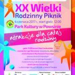 XX Wielki Rodzinny Piknik Radia Kolor w Parku Kultury w Powsinie