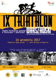 IX Triathlon Warszawski