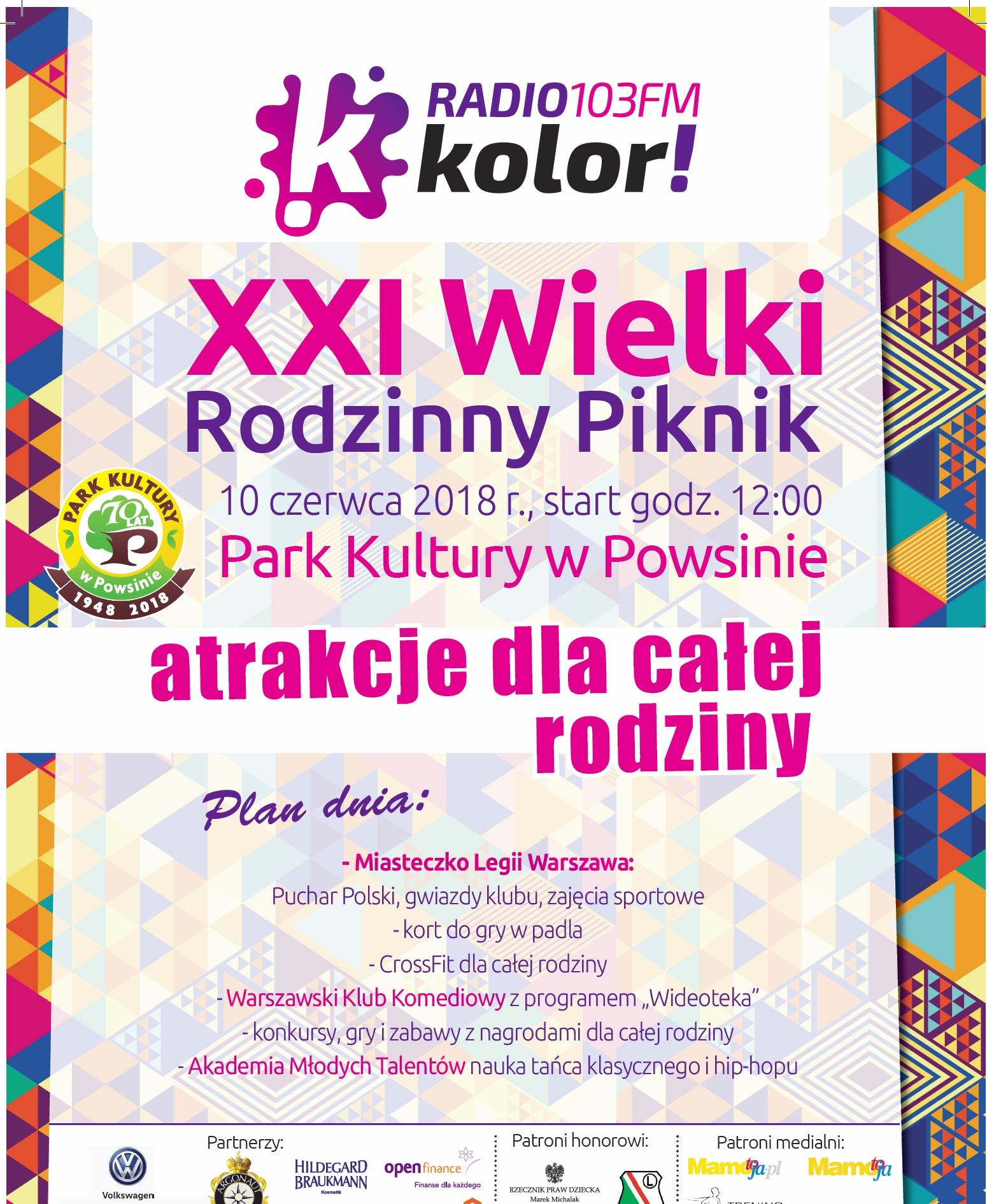 XXI Wielki Piknik Rodzinny Radia Kolor
