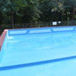 Otwarty brodzik dla dzieci na basenie