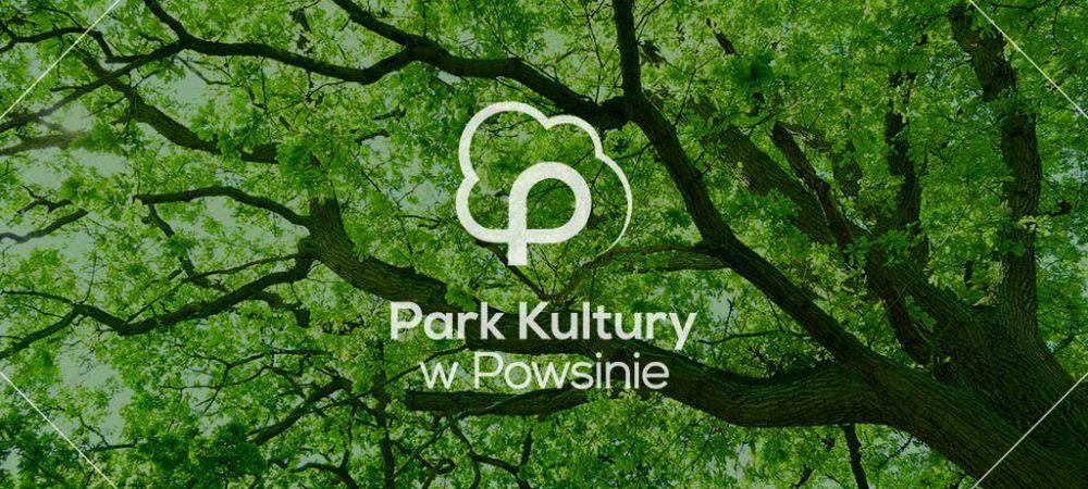 Park w Powsinie tło