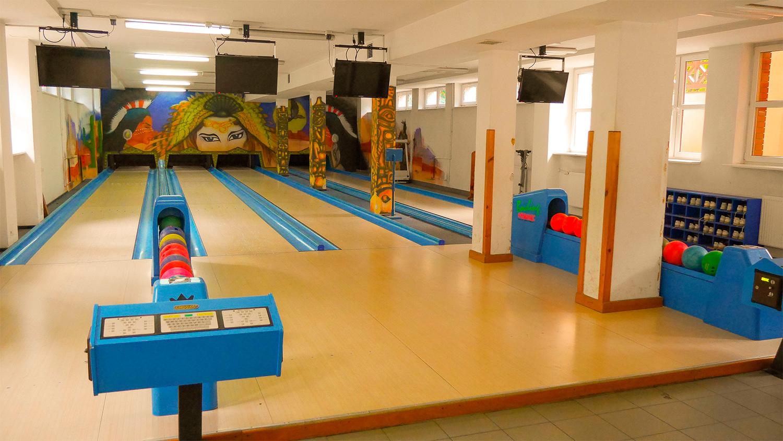 kregielnia w Pawilonie sportowo-rekreacyjnym