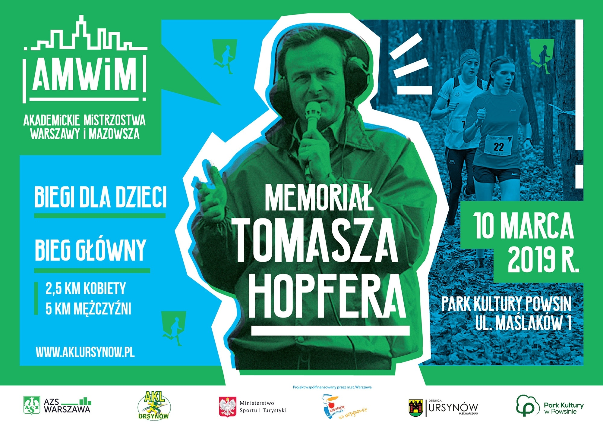 Memoriał Tomasza Hopfera @ Park Kultury w Powsinie