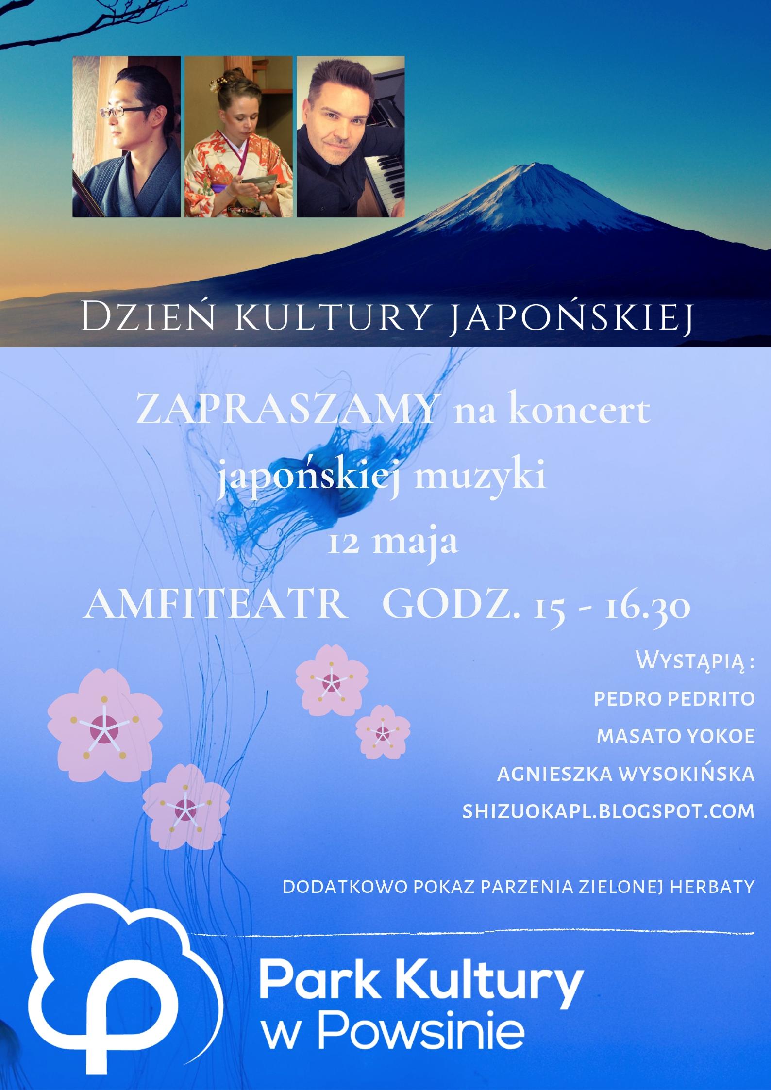 Koncert Kultury Japońskiej @ amfiteatr Parku Kultury w Powsinie