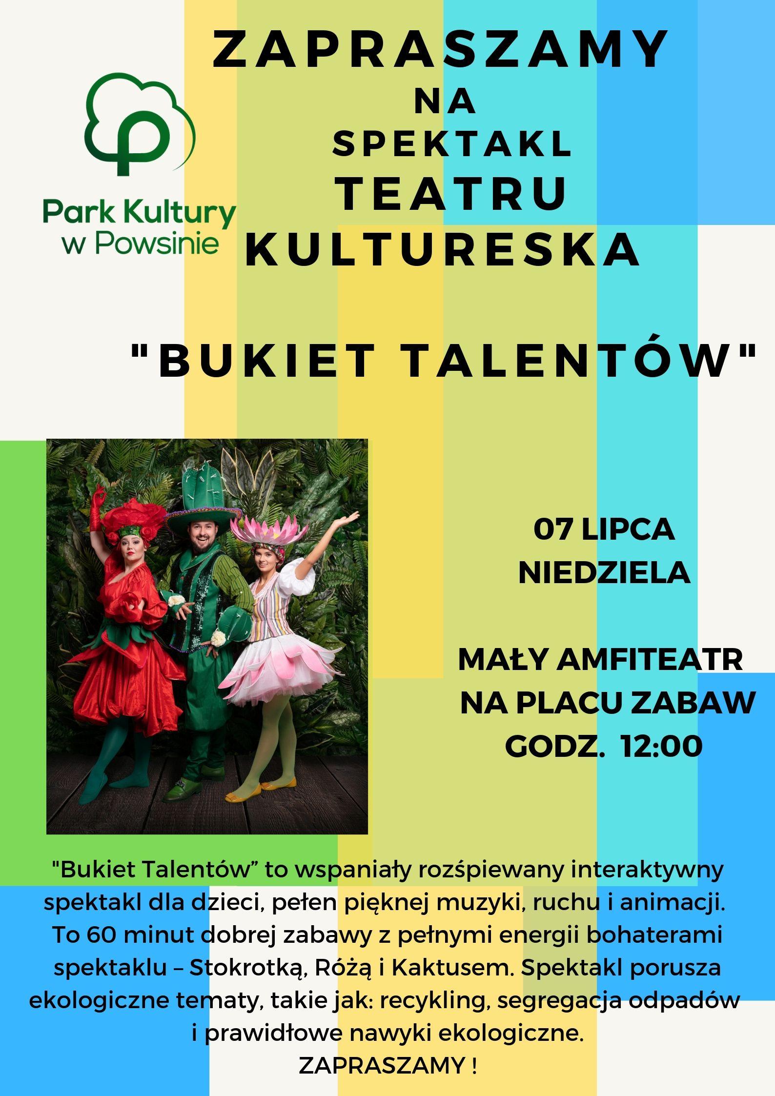 """Spektakl """"Bukiet Talentów"""""""