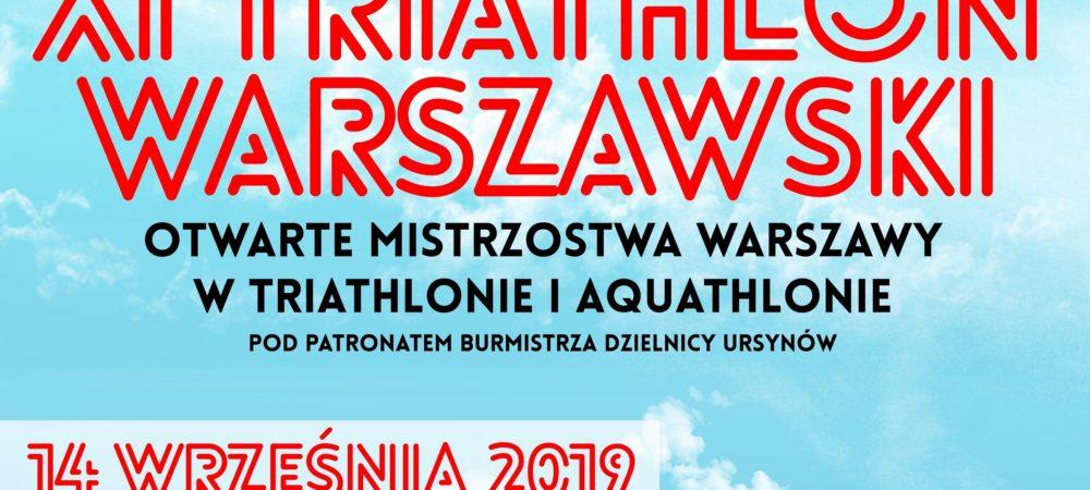 baner triathlon warszawski