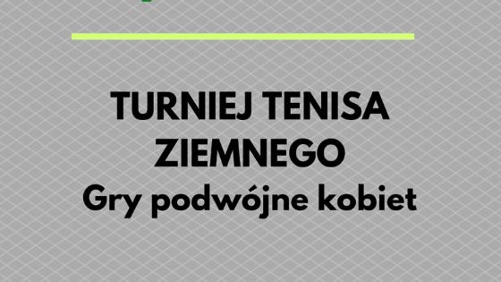 Tenis ziemny - Gry podwójne kobiet