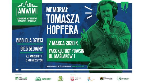 Plakat Memoriał HOpfera