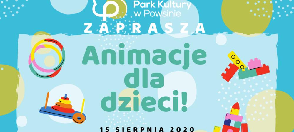 Animacje dla dzieci - plakat
