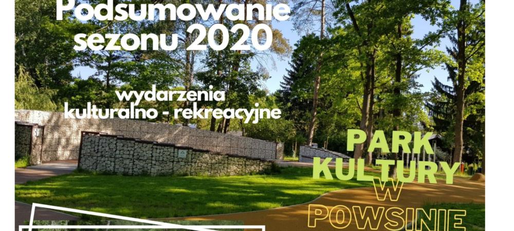 Plakat - podsumowanie sezonu 2020