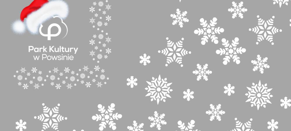 szare tło z białymi gwiazdkami